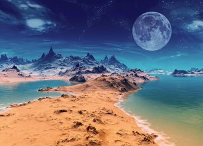 Ученые выдвинули новую теорию о происхождении воды и океана на Марсе
