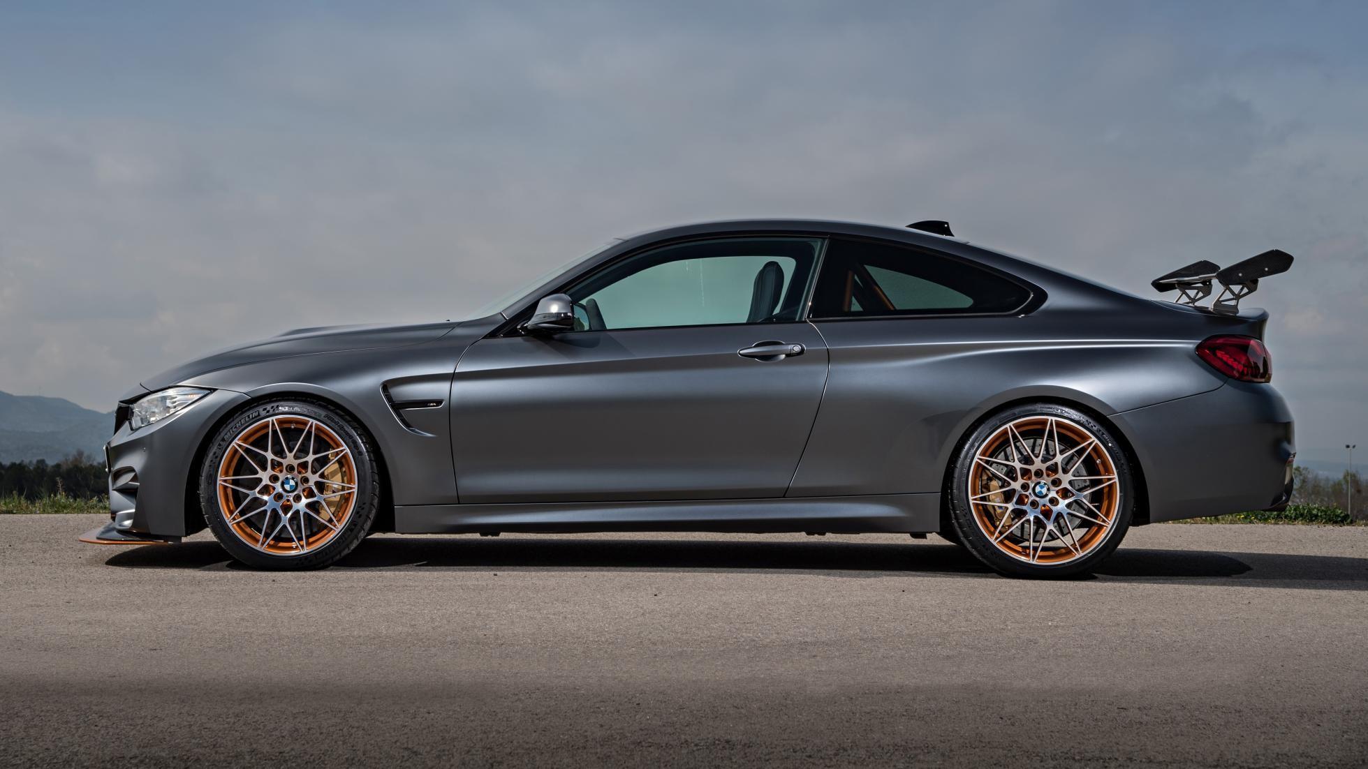 BMW назвала страны в которых появится лимитированный M4 GTS