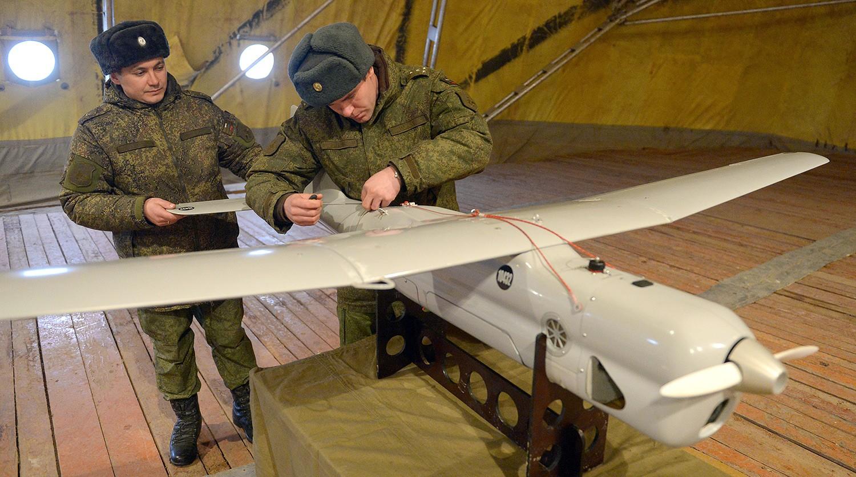 Польша сетует навторжение русских беспилотников