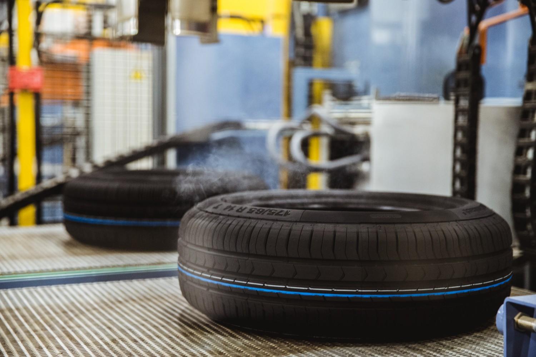 В Калуге на заводе Continental сошла с конвейера 4-миллионная шина