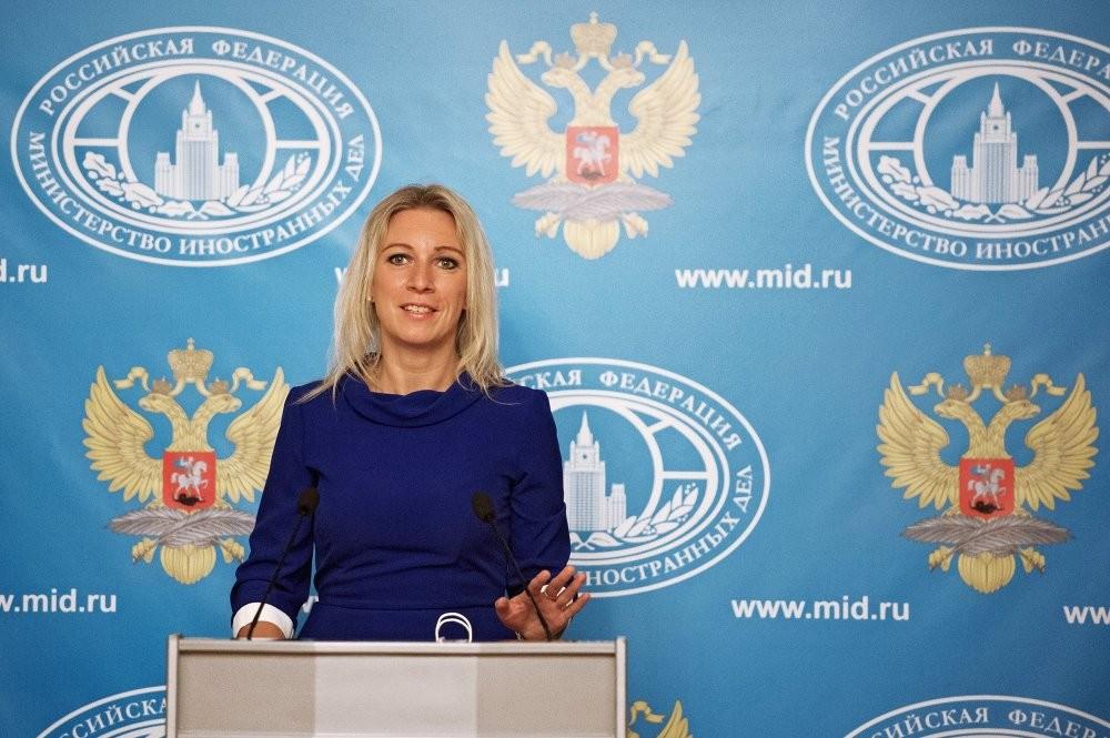 Уполномоченный МИД Захарова станцевала перед репортерами «Калинку»