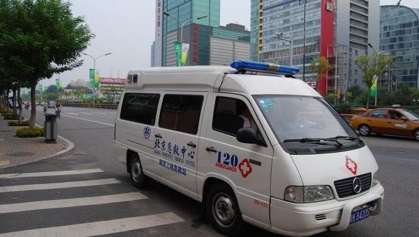 В КНР перевернулся ученический автобус, необошлось без жертв