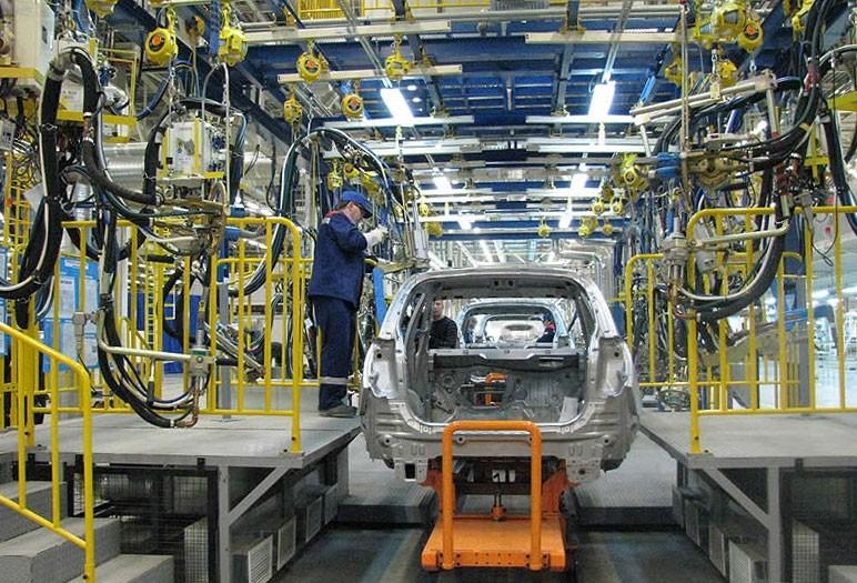 Четверть всех легковых автомобилей в России выпускается в Санкт-Петербурге