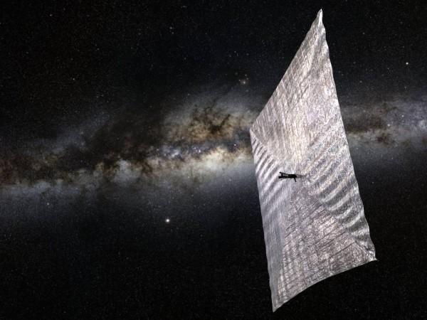 Ученые предложили идею межгалактического магнитного паруса