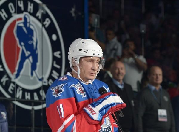 Путин сыграет в гала-матче Ночной хоккейной лиги