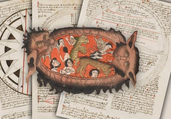 Учеными обнаружена «Карта ада» с датой Судного дня