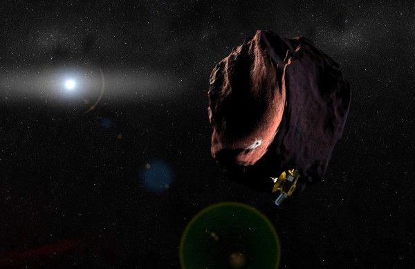 Космический зонд New Horizons детально изучил крупный астероид в поясе Койпера