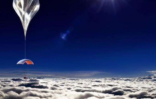 Китайцы запустят в космос человека на воздушном шаре