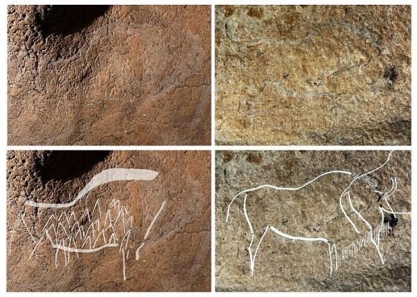 В Испании археологи нашли удивительные наскальные рисунки