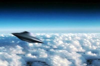 МКС зафиксировала выход НЛО из атмосферы Земли на видео
