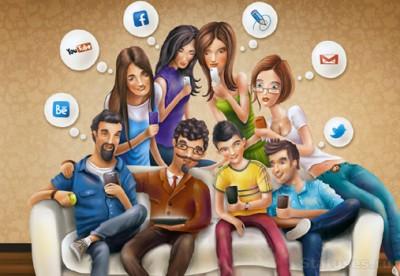 Учёные: В соцсетях в друзья добавляют популярных и активных людей