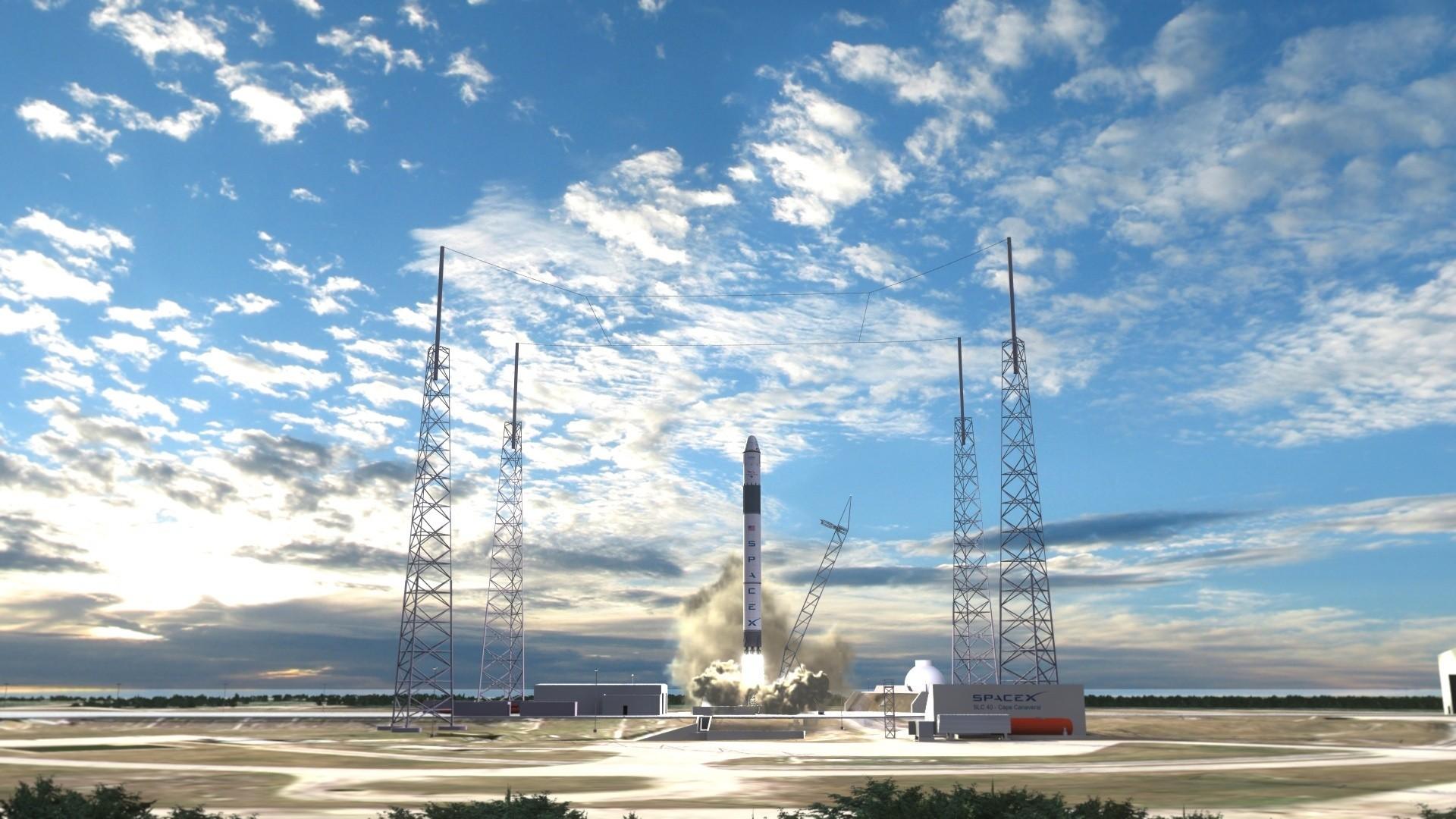 SpaceX планирует запустить модернизированную ракету Falcon-9 осенью