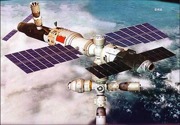 Китайская орбитальная станция падает на Землю в неконтролируемом режиме