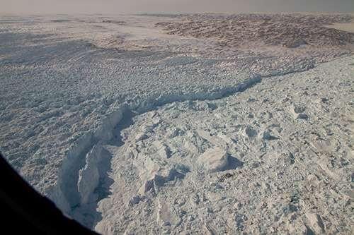 ВГренландии обнаружили следы огромной реки