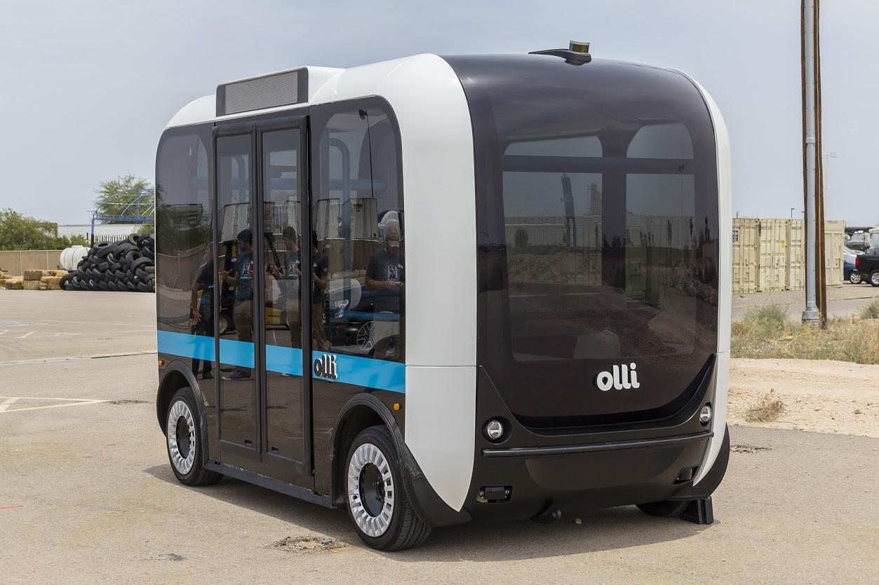 В США на 3D принтере напечатали беспилотный автобус
