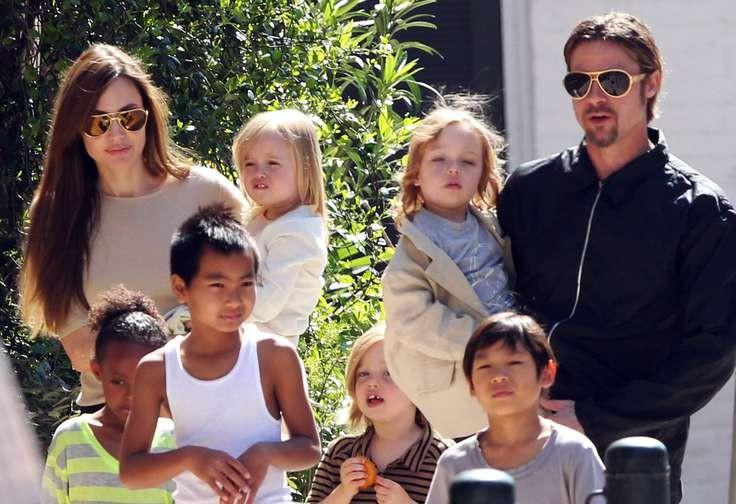 Дети Анджелины Джоли мечтают стать полиглотами