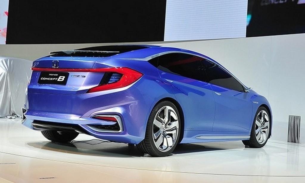 В Сети опубликованы шпионские фото нового хэтчбека Honda Gienia