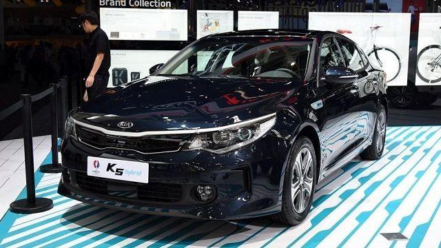 ВКитайской республике  стартовали продажи гибридного седана Кия  K5