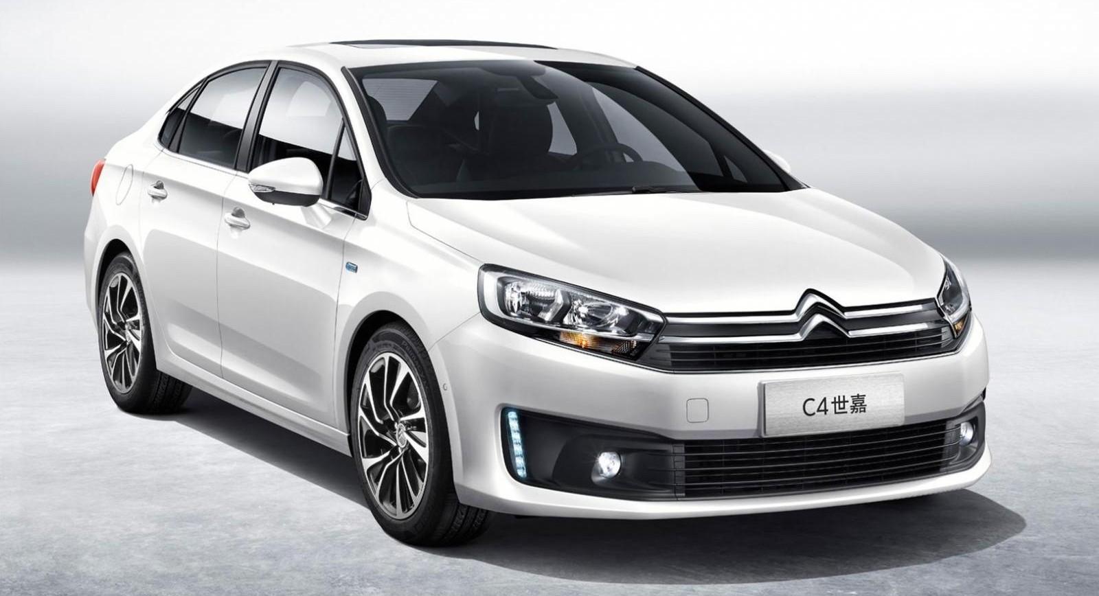 Обновленная модель Citroen C4L Sedan выйдет на китайский рынок уже в июле