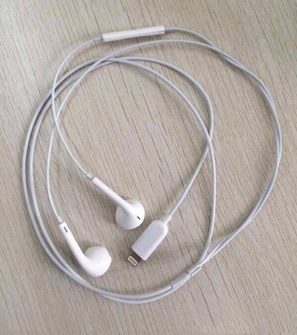 Винтернете появился снимок EarPods сразъем Lighthing