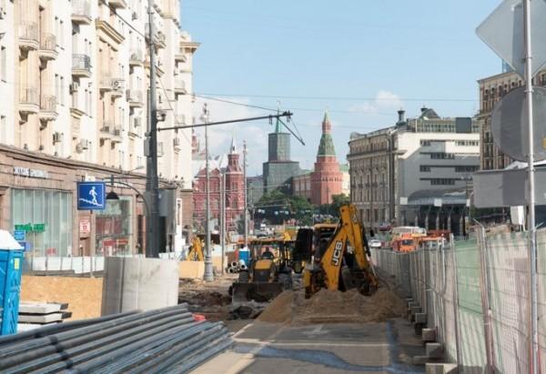 Около одной тысячи артефактов найдены археологами на улице Тверская