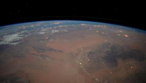 Астронавт Тим Пик публикует снимки из космоса