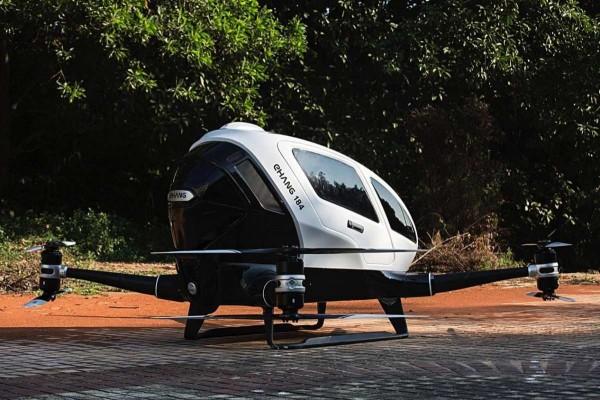 В Неваде испытывают первый в мире дрон-такси