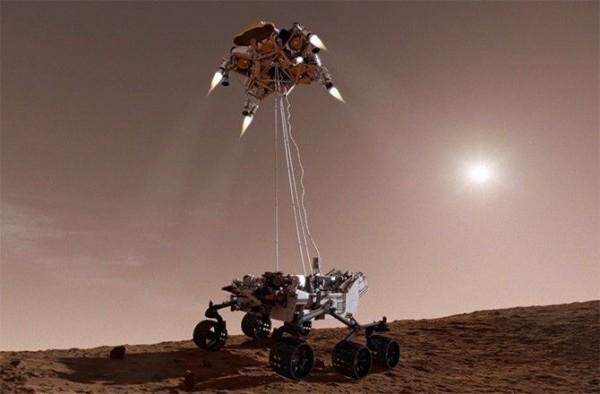 Дроны-скауты вскоре начнут помогать марсоходам с разведкой местности