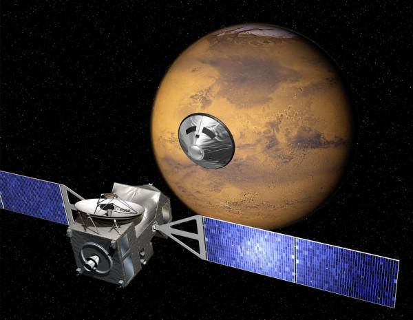 Представлен первый снимок Марса от миссии ExoMars