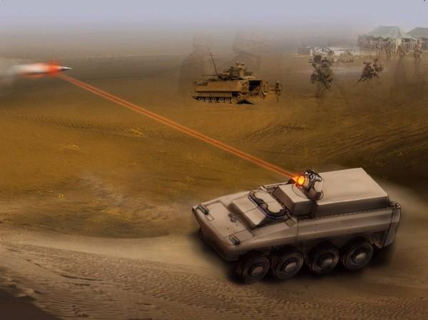У Росії створять нову лазерну зброю