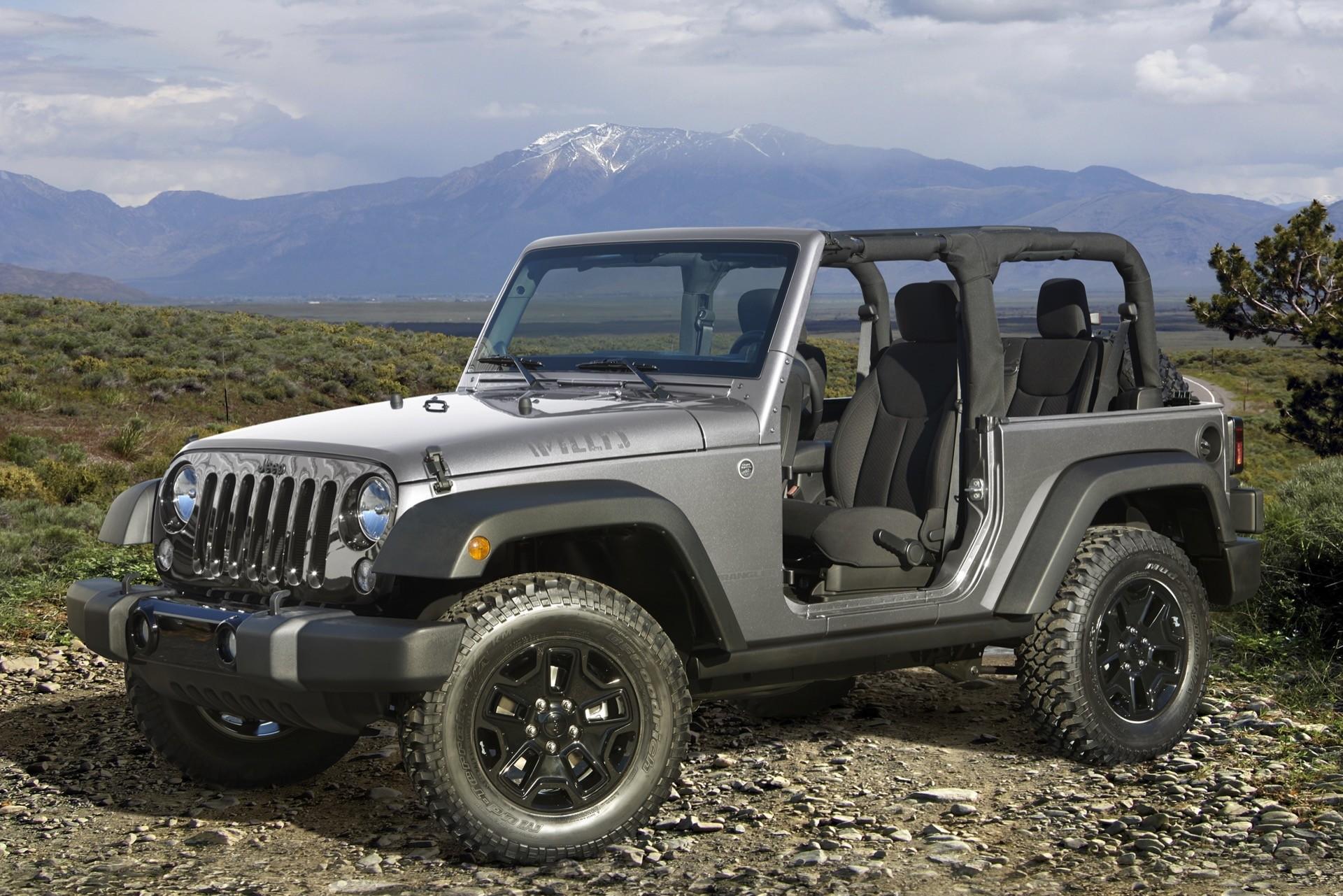 Новый Jeep Wrangler сохранит МКПП
