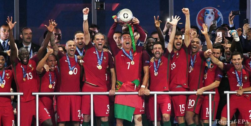 УЕФА составил неменее символическую сборную наилучших игроков Евро