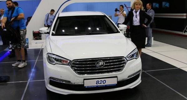 Лифан показал обновленные модели на«Иннопром-2016»