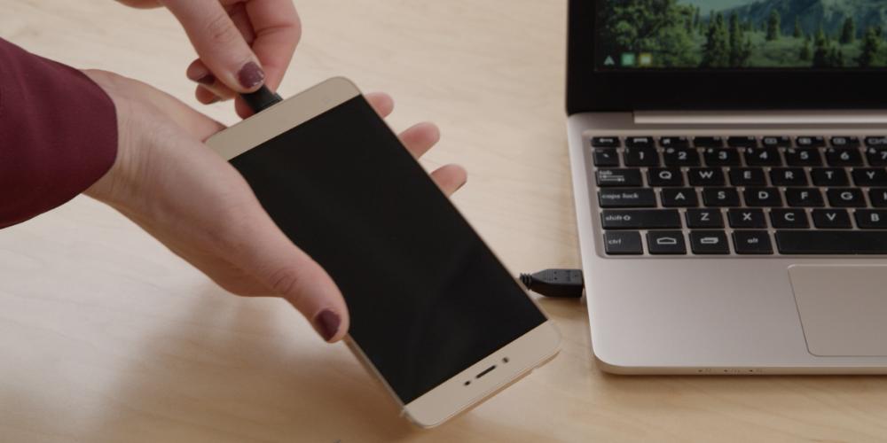 Superbook сможет превратить смартфон в ноутбук