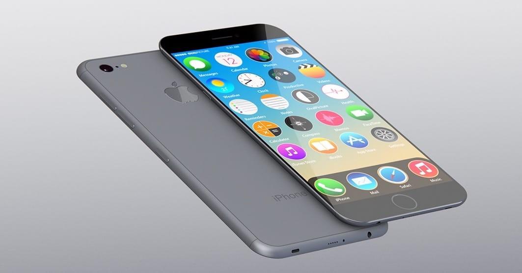 Нановом фото видно 4 варианта оформления телефона Apple iPhone 7