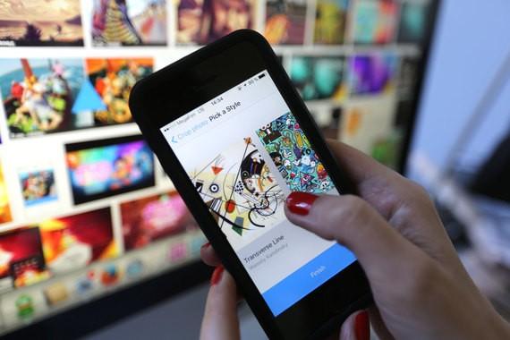 Приложение Prisma для андроид уже доступно