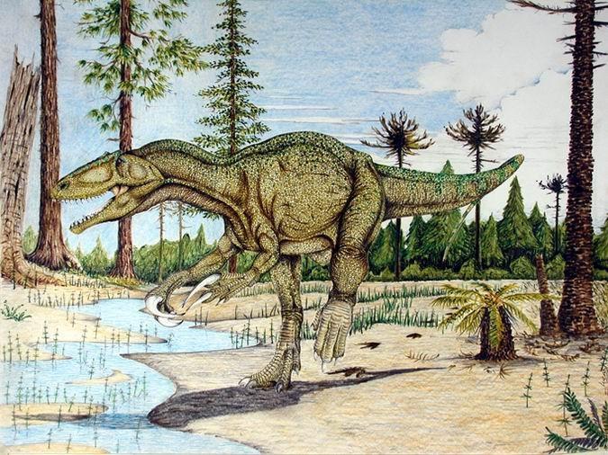ВАргентине найдены кости динозавра, жившего 80 млн лет назад