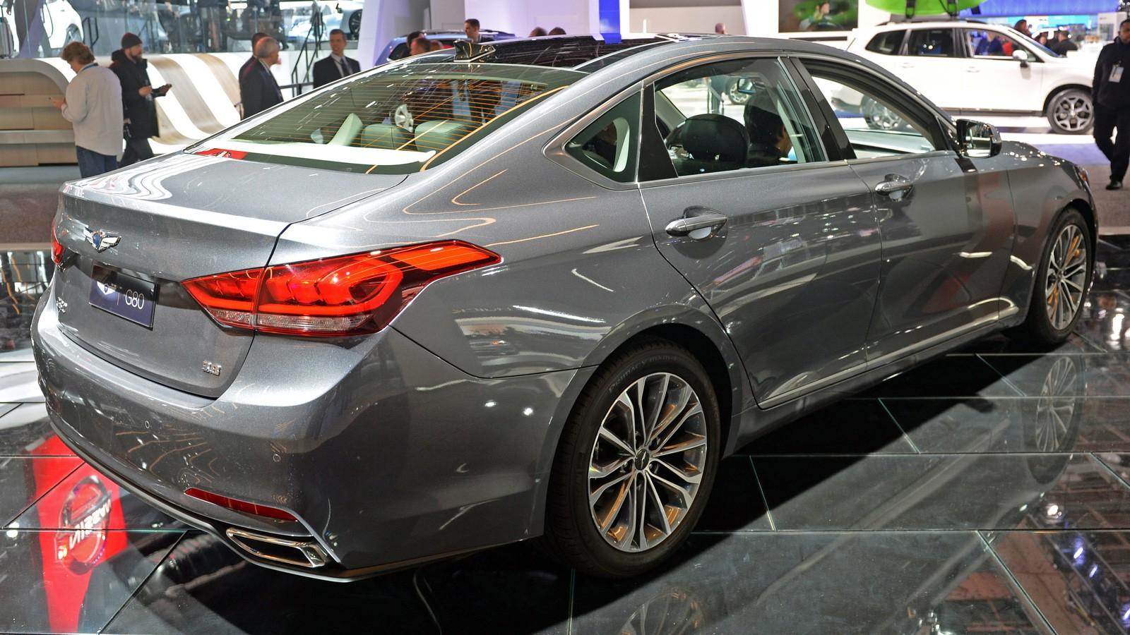 Hyundai представил новый седан Genesis G80
