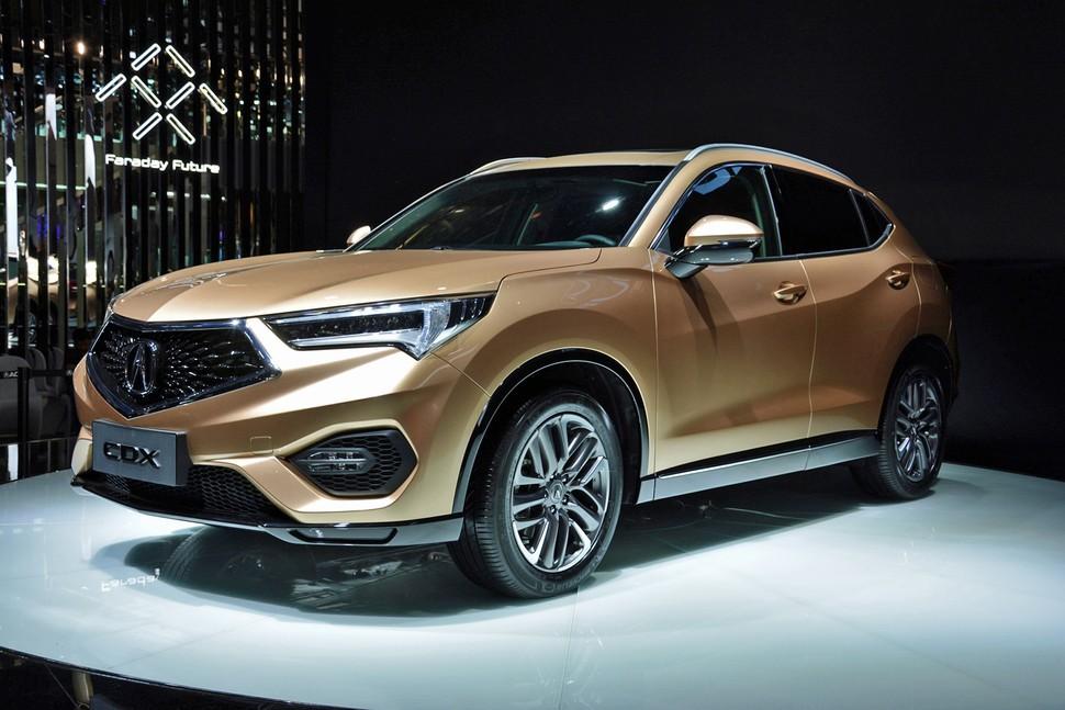 Acura CDX выходит на рынок Китая