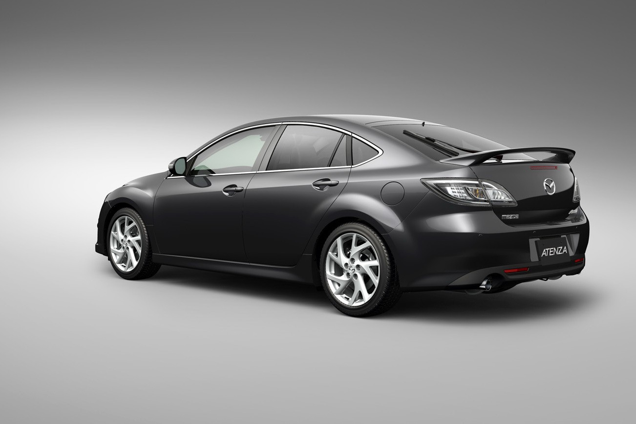 Снимки обновленной версии Mazda 6 Atenza опубликованы