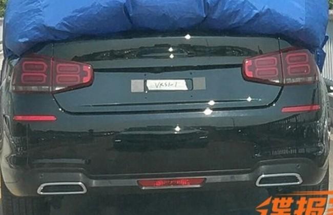 Появилось первое фото нового седана Citroen C5