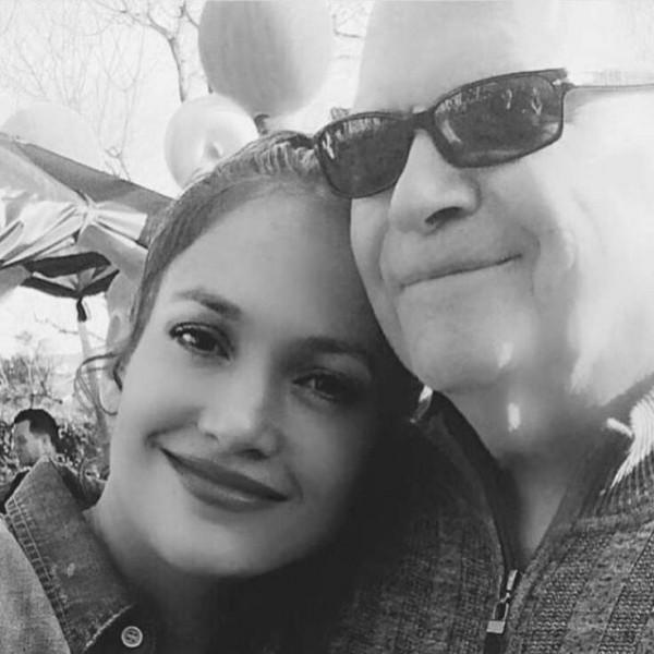 Дженифер Лопес опубликовала трогательное фото с отцом