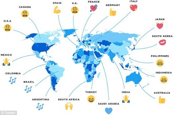 Специалисты рассказали, какие emoji по душе жителям разных стран