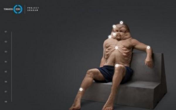 Австралийские ученые создали модель человека, приспособленного к автокатастрофам