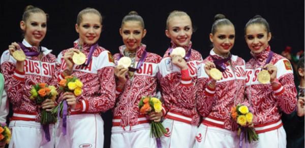 Олимпийские чемпионы по спортивной гимнастике Абсолютное