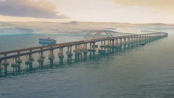 Корпорация Google нанесла объекты строительства Керченского моста на свои карты