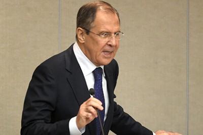 Сергей Лавров озвучил главную тему переговоров с госсекретарём США