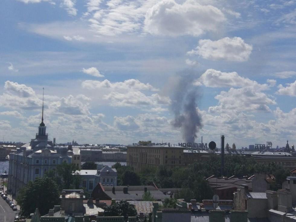 Пожар наКиевской потушили