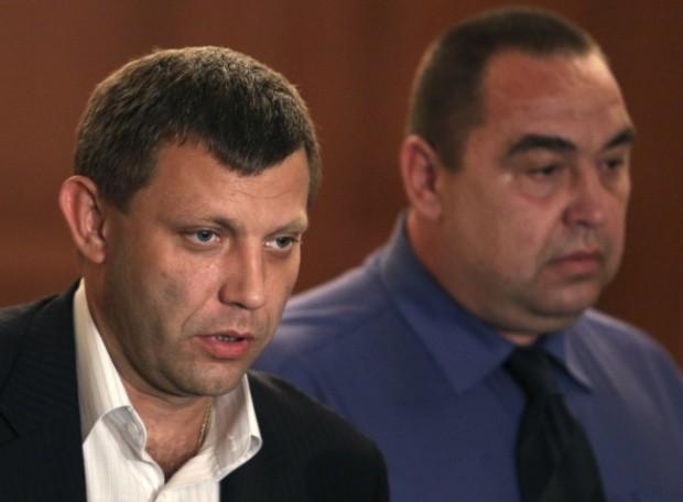 Руководитель ДНР Захарченко навестил в клинике Игоря Плотницкого