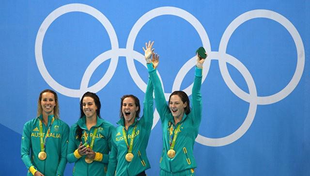 Австралийские пловчихи побили мировой рекорд наОлимпиаде